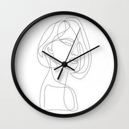 Flirty Wall Clock