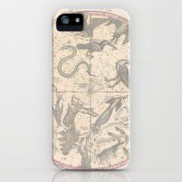 Burritt - Huntington Map of the Stars: The Southern Hemisphere iPhone Case