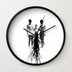 Emission Wall Clock