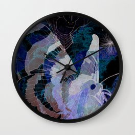 Dark Summer Wall Clock