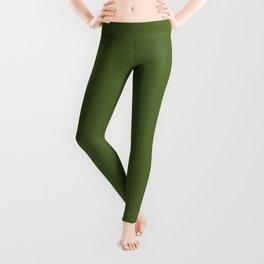 Dark Olive Green Leggings