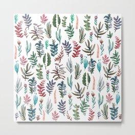 water color garden Metal Print