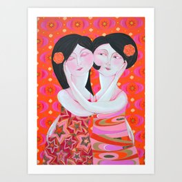Same Love 2 Art Print