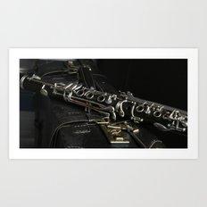 Clarinet Art Print