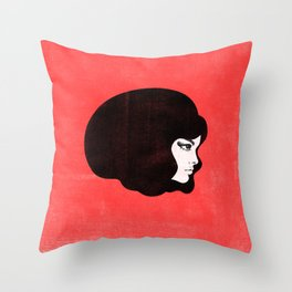60s Throw Pillow
