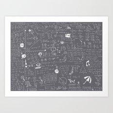 Maths Art Print