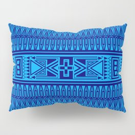 The Gathering (Blue) Pillow Sham