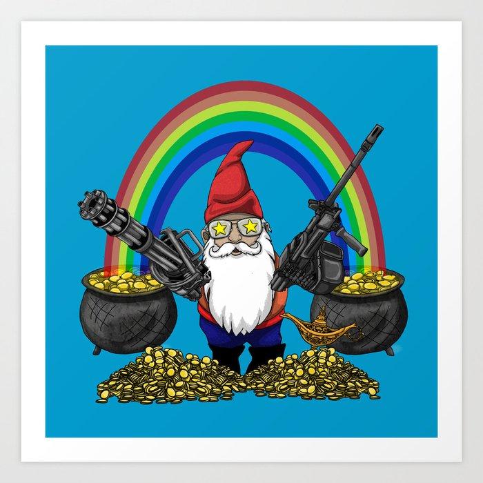 Gnome Guns Kunstdrucke