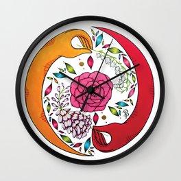 Yin&Yang Wall Clock