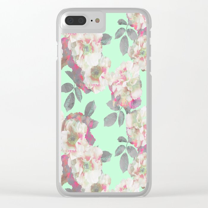 Fresh Garden Clear iPhone Case