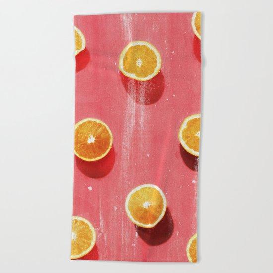 fruit 5 Beach Towel