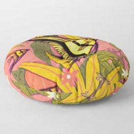 Angel Fish #3 Floor Pillow