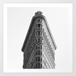 Iron Building // New York Photography // Black and White Art Print