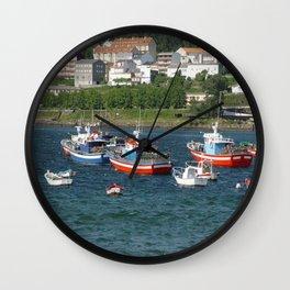 Camariñas Wall Clock