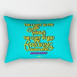 The Light In You Rectangular Pillow