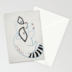 R Raccoon Stationery Cards