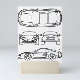 Supra Mk 4 Mini Art Print
