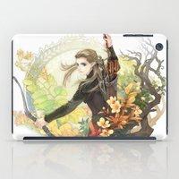 legolas iPad Cases featuring Legolas by kagalin