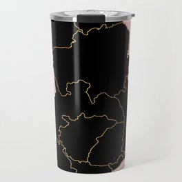 Ghana map Travel Mug