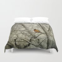 robin williams Duvet Covers featuring Robin by Dorothy Pinder