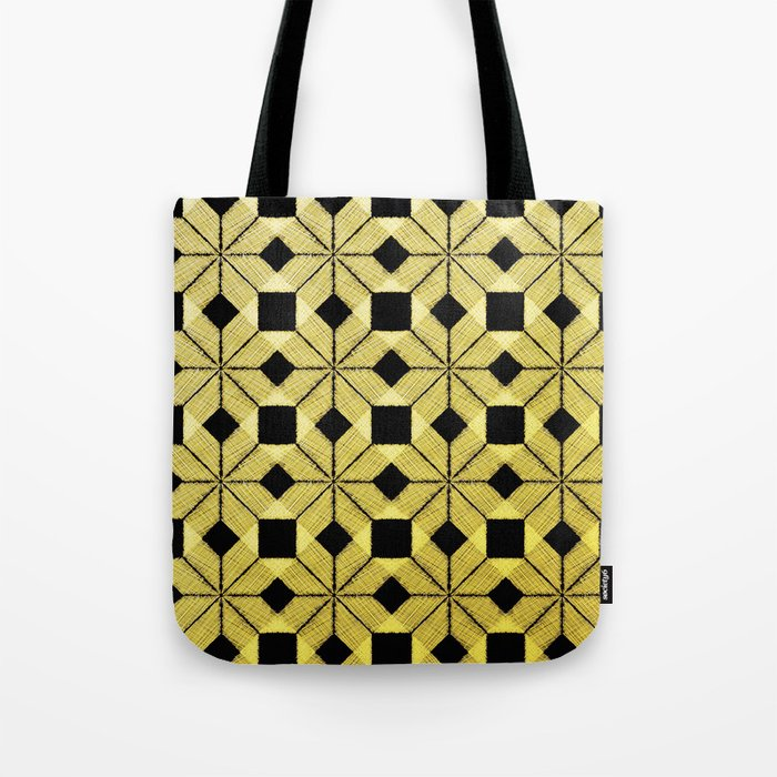 Golden Snow Tote Bag