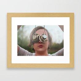 Choosing Blindness Framed Art Print