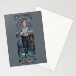 Art Nouveau - Leo Fitz Stationery Cards
