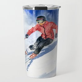 Winter Sport Travel Mug