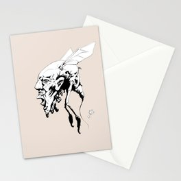 Bug Hed Stationery Cards