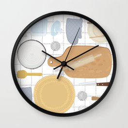 kitchenware collection Wall Clock