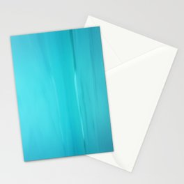 Abstract Turquoise Stationery Cards