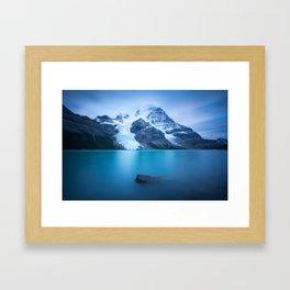 Berg Lake Framed Art Print