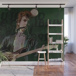 Dylan Goes Electric Wall Mural