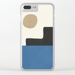abstract minimal 30 Clear iPhone Case