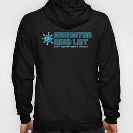 Edmonton Nerd List (colour on dark) Hoody
