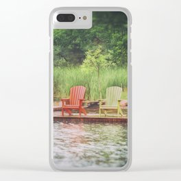 Adirondack Clear iPhone Case