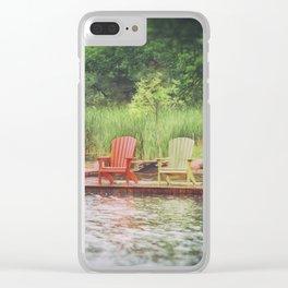 Adirondack Clear iPhone Case