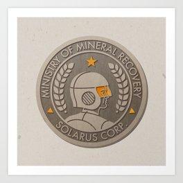 Super Motherload - Solarus Corp. Art Print