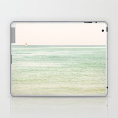 Nautical Red Sailboat Laptop & iPad Skin