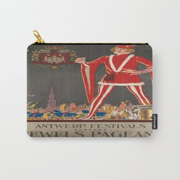 Vintage poster - Antwerp Carry-All Pouch