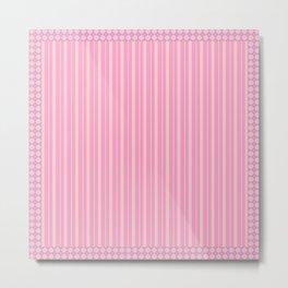 Combo pink decor Metal Print