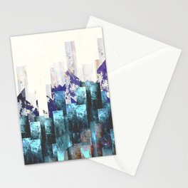 Cold cities Stationery Cards