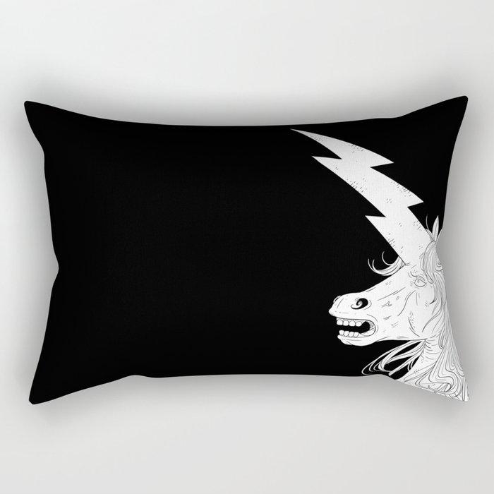 Thunderhorse Rectangular Pillow