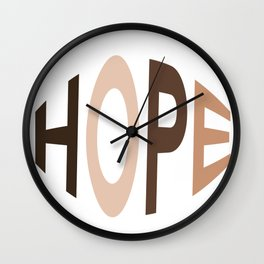 Hope for Togetherness  Wall Clock