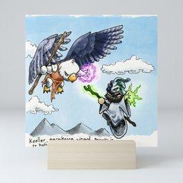 Doodles & Dragons - Mini Encounters Mini Art Print