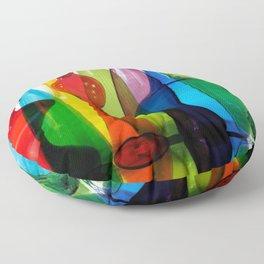 Blenko Reflections Floor Pillow
