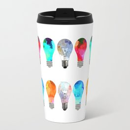 Light Bulbs Travel Mug