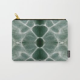 Water shiny green ripples Carry-All Pouch