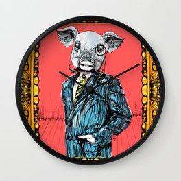 MR. PIG Wall Clock