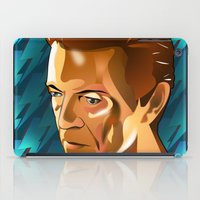 bowie iPad Cases featuring Bowie  by Beth Gatza